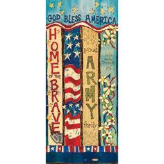 Army Custom Art Pole - 3 Foot H Master, Peace Pole, Garden Poles, Pole Art, Spring Crafts For Kids, American Decor, 3 Arts, Custom Art, Yard Art