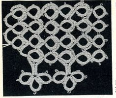 5804 Vintage Tatting PATTERN for Tatted Modern by BlondiesSpot, $1.99