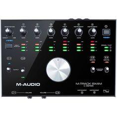 M-Audio MTRACK 8X4M M Audio, Monitor, Instruments, Zero, Track, Products, Runway, Truck, Running