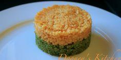 Carot and Spinach Bulgur Wheat
