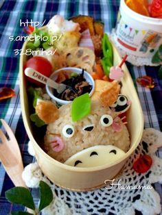 トトロのお弁当♡キッズモデル体験♪の画像   ゚*.。.*゚Haママ手作りDiary*.。.*゚*.