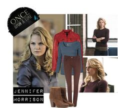 """Once Upon A Time : Jennifer Morrison"" by shafir-forfashion ❤ liked on Polyvore"