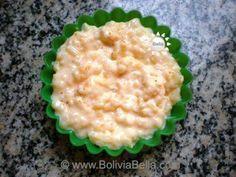 Bolivian  Food and Recipes - Arroz con Leche