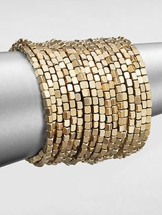ABS by Allen Schwartz Jewelry Beaded Coil Bracelet on shopstyle.com
