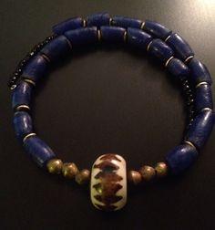Afrocentric Jewelry - Batik Bone