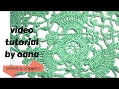 Crochet delicado triángulo - YouTube