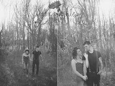 piqua engagement photographer: bobby + heather