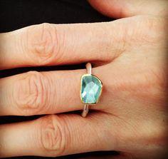 Aquamarine Gemstone, Gemstone Rings, Greek Jewelry, Color Ring, Heart Ring, Turquoise, Gemstones, Sterling Silver, Instagram Posts