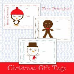 Holly Brooke Jones: Free Christmas Gift Tags Printable