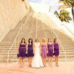 Love the purple ombre bridesmaids dresses Ombre Bridesmaid Dresses, Bridal Dresses, Bridesmaids, Wedding Dreams, Dream Wedding, Wedding Stuff, Our Wedding, Desert Fashion, Purple Ombre