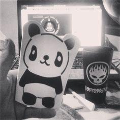 adesivo de panda