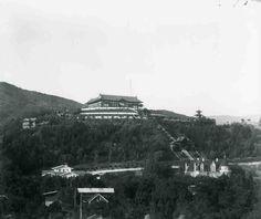 1918: Bernheimer Residence. Now the Yamashiro Hollywood