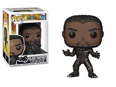 The battle for Wakanda begins in Marvel's Black Panther. Decide who will be the next king with a little help from Funko. This Black Panther Pop! Vinyl Figure measures approximately 3 tall and comes packaged in a window display box. Ages 3 and up. Black Panthers, Black Panther Marvel, Funko Pop Marvel, Pop Vinyl Figures, Funko Pop Figures, Funko Pop Toys, Funko Pop Vinyl, Batman Figures, Action Figures