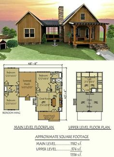 , Our popular Camp Creek Dog Trot design # House plans Plan 3 Bed Dog Trea House Plan with SleepPlan 3 Bedroom Dog Trab House PlanA tiny house with a dog on the porch. Dog Trot House Plans, Small House Plans, Tiny Home Floor Plans, House Dog, Simple Home Plans, Small Log Cabin Plans, Small Cottage Plans, Log Cabin House Plans, Loft Floor Plans