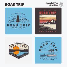 Road Trip - TheVectorLab Store Signage, Affinity Photo, Affinity Designer, Graphic Design Software, Photoshop Illustrator, Coreldraw, One Design, Graphic Design Inspiration, Vector Graphics