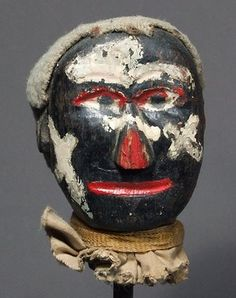 "Anonymous Works: Circa Folk Art Carved ""Punch and Judy"" Puppet Heads James Ensor, Punch And Judy, Monster Dolls, Art Carved, Naive Art, Outsider Art, Interesting Faces, Traditional Art, Folk Art"