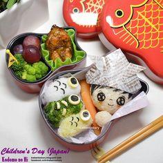 Karenwee's Bento Diary: Bento2015#May05~Japan Children's Day Bento