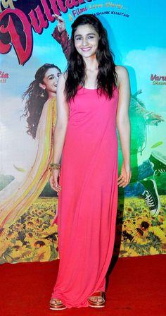 Alia Bhatt promoting Humpty Sharma Ki Dulhaniya in Mumbai.