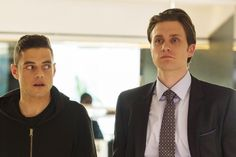 Watch this weeks Mr. Robot Digital After Show with actor Martin Wallström Tyrell Wellick, Night At The Museum, Mr Robot, Rami Malek, Film Books, Staying Alive, Pretty People, Cute Couples, Tecnologia