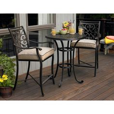 Balcony Height Bistro Set: Make the Most of Outdoor Living with Sears