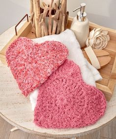 Here's My Heart Scrubby ~ Free Pattern Download
