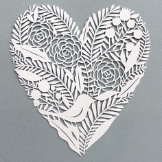 Image of Heart Paper Cut