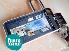 Disney Frozen Olaf tardis    iPhone 4/4s/5/5c/5s Case by funtoxaze, $13.55
