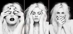 see no evil // hear no evil // speak no evil    definitely taking this photo to hang in my home.