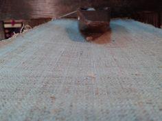 Raw hemp cloth...now needs pounding, many layers of indigo, bees wax and polishing. Black H'mong indigo cloth Textile Traditions of Vietnam's North 2015