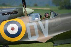 Spitfire Mk. IA at Duxford