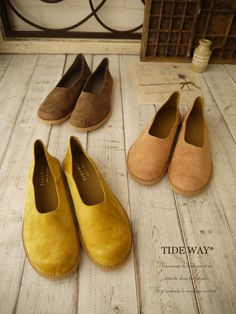 TIDE WAY PIG SUEDE*SHOES(全3色)
