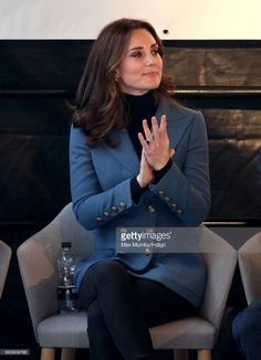 (EMBARGOED FOR PUBLICATION IN UK NEWSPAPERS UNTIL 48 HOURS AFTER CREATE DATE AND TIME) Catherine, Duchess of Cambridge attends the Coach Core graduation ceremony for more than 150 Coach Core apprentices at The London Stadium on October 18, 2017 in London, England. (Photo by Max Mumby/Indigo/Getty Images)