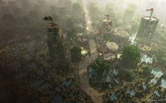 Block by Block, WesterosCraft recreates the World of Game of Thrones. The folks over at WesterosCraft have been recreating the entirety of the Game of Thrones' western continent in a single massive Minecraft world. Amazing Minecraft, All Minecraft, Minecraft Buildings, Game Of Thrones Set, Game Of Thrones Locations, Minecraft Medieval, Lego Christmas, Minecraft Creations, Interesting Faces