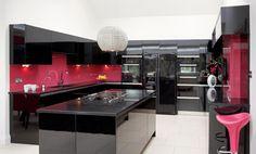 Black kitchen   Cocinas Integrales Mödul Studio