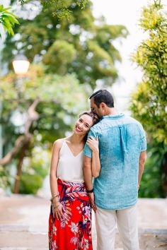 One more from Victoria & Chad's anniversary session in Old San Juan.