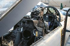 F-14A cockpit....sooo many days in here!