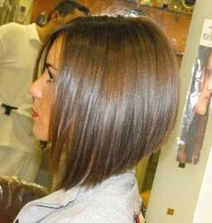 wanna give your hair a new look? Inverted bob hairstyles is a good choice for you. Here you will find some super sexy Inverted bob hairstyles, Find the best one for you, Blonde Graduated Bob, Graduated Bob Hairstyles, Long Angled Bob Hairstyles, Layered Haircuts, Swing Bob Hairstyles, Short Hair Cuts, Short Hair Styles, Pretty Hairstyles, Teenage Hairstyles