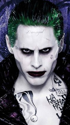 Read Imagine from the story Joker x reader (smut) by hellookinky ((:) with reads. harley, joker, (Ik this isn't Jared Leto as the jo. Joker Iphone Wallpaper, Smile Wallpaper, Joker Wallpapers, Jared Joker, Jared Leto Joker Tattoo, Joker Tattoos, Foto Joker, Hahaha Joker, Joker Kunst