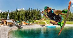 Buergeralpe-Kristallsee-Wakeboard Contest