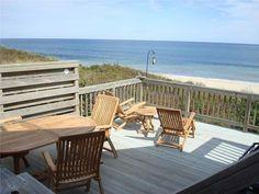 Large deck overlooking beach Wellfleet, Cape Cod vacation rental on WeNeedaVacation.com ID 17107