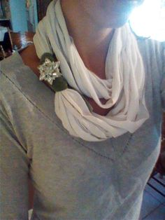 Another t-shirt scarf.