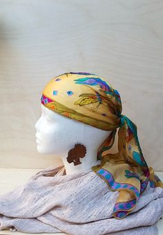 Handmade earring, wood earring, Afro girl earring, wood jewelry, ethno earrings, african girl, Afro hair earring, Female silhouette earrings by VedaBohoShop on Etsy