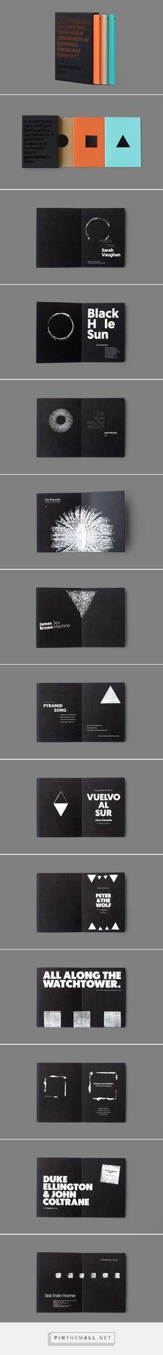 type specimen booklets collection - PPT design ideas