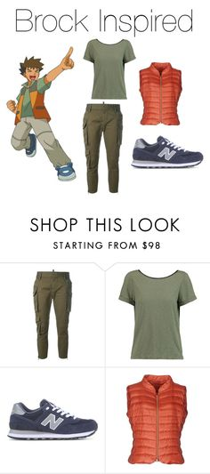 """Brock Inspired!🕶"" by jazzrodgers ❤ liked on Polyvore featuring Dsquared2, Alice + Olivia, New Balance and Herno"