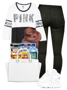 """""""hola como esta"""" by lovermonster ❤ liked on Polyvore featuring Victoria's Secret, NIKE and Michael Kors"""