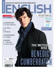 """""""Cumberbatch w roli Sherlocka nie mógł okazać się temat kiepskim. (...) Ścieżka kariery aktora i jego podejście do życia często zaskakuje fanów, tak jak zaskakiwał bohater stworzony przez sir Arthura Conan Doyle'a. Przegląd postaci występujących w jego twórczości przez pryzmat współczesnego serialu BBC zdaje się rewelacyjnym materiałem do poznania nowego słownictwa."""" Zapraszam na Dune Fairytales: http://dune-fairytales.blogspot.com/2014/11/english-matters-492014-oraz-numer.html"""