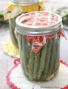 Can't-Miss Canning Recipes: Aunt Ruth's Dilly Beans from Gooseberry Patch. Bursting with flavor, you have to try these pickled beans!
