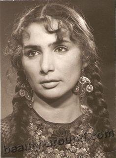 Beautiful Russian Romani (Gypsy) woman