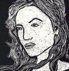 scratch art girl