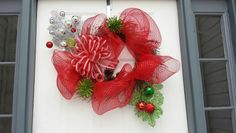 Xmas door wreath!